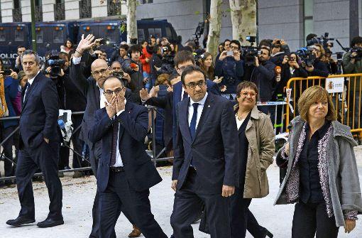 Spaniens Justiz greift durch
