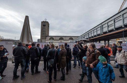 ...hat die S21-Baustelle für Besucher geöffnet. Foto: Lichtgut/Leif Piechowski