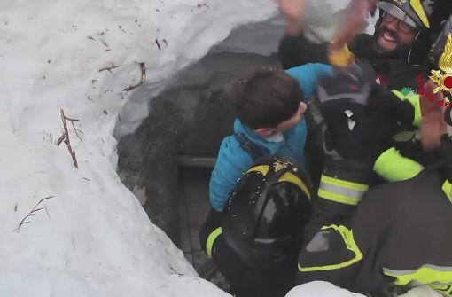 Drei weitere Kinder lebend gerettet