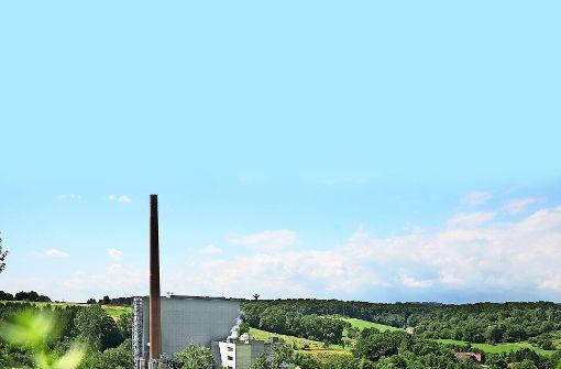 Im  Müllheizkraftwerk in Göppingen werden seit 1975 Abfälle thermisch verwertet. Foto: Horst Rudel