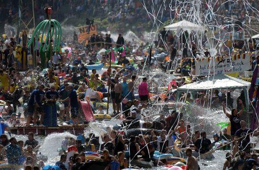 Schlägereien und Auseinandersetzungen bei Volksfest