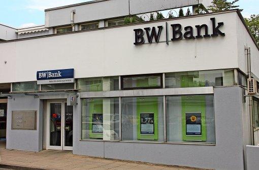 Die BW-Bank Dünnt Ihr Filialnetz Auch Im Stuttgarter