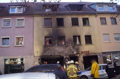 Gaststätte geht in Flammen auf – ein Verletzter