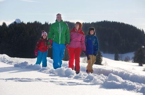 Den Winter in seiner ganzen Pracht erleben, das geht für Kinder nirgends so gut wie in Nesselwang  Foto: Nesselwang Marketing GmbH