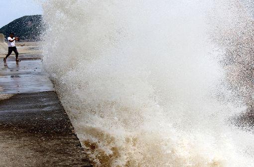 China rüstet sich gegen Taifun