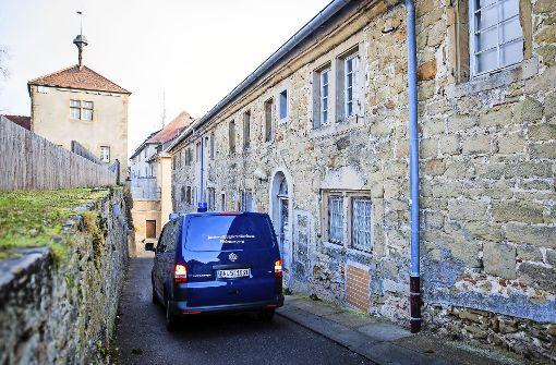 Ort des Geschehens :  das Justizvollzugskrankenhaus Hohenasperg Foto: dpa