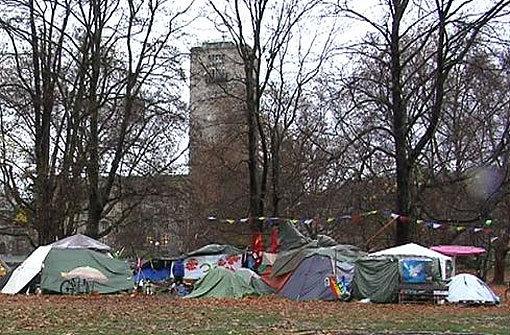 Video: Campen gegen Stuttgart 21