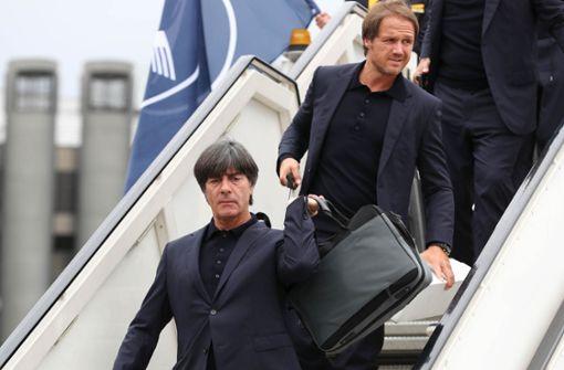 DFB-Team in Russland gelandet