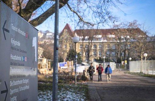 Im Bereich des Königin-Katharina-Stifts in der Stuttgarter Innenstadt will die Polizei in Zukunft mehr Präsenz zeigen. Foto: Lichtgut/Max Kovalenko