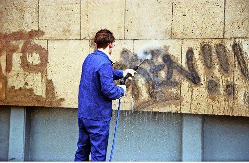 Sprayer  halten die Polizei auf Trab