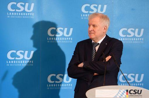 Der CSU-Parteivorsitzende Horst Seehofer hat guten Grund optimistisch zu sein. Foto: dpa