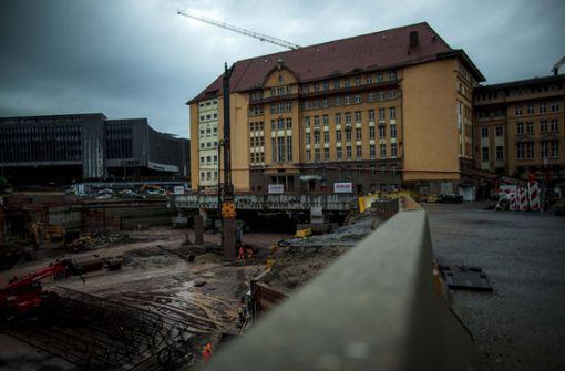 Das Areal rund um die alte Bahndirektion wurde verkauft. Foto: Lichtgut/Leif Piechowski