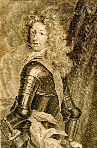 Herzog Eberhard Ludwig, der Gründer der Stadt Foto: Stadtarchiv Ludwigsburg