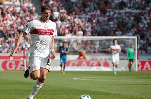 Spielentscheider gegen die TSG 1899 Hoffenheim: Mario Gomez. Foto: Pressefoto Baumann