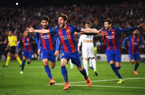 Barcelona schafft das Fußball-Wunder