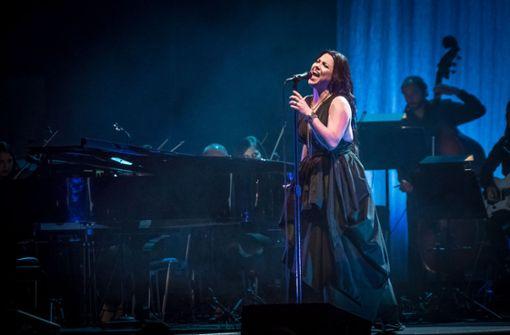 Nur sie ist übrig von der ursprünglichen Band Evanescence Foto: Lichtgut/Julian Rettig