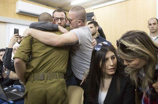 18 Monate Haft   für Tötung eines Palästinensers