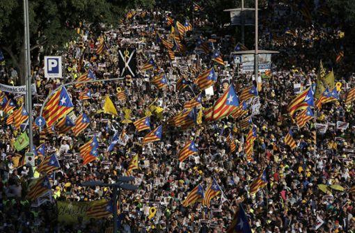 Separatisten geben im Katalonien-Konflikt nicht auf