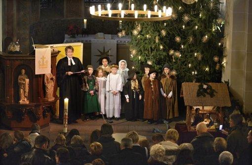 An Weihnachten sind die Kirchen voll – sonst nur noch selten Foto: epd