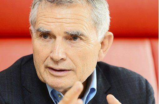 """""""Der Vorstand hat erklärt, dass er keine Alternative zu Stuttgart 21 sieht"""", sagt Wolfgang Dietrich, der Projektsprecher von S 21. Foto: dpa"""