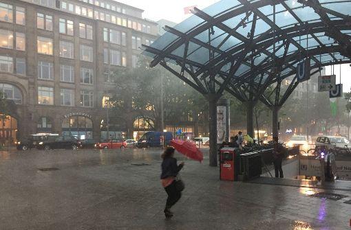Tornado in Hamburg und Toter in Uelzen
