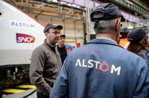 Alstom fürchtet Fusion mit Siemens
