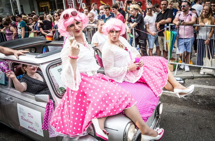 Christopher Street Day: Der Protest leuchtet bunt