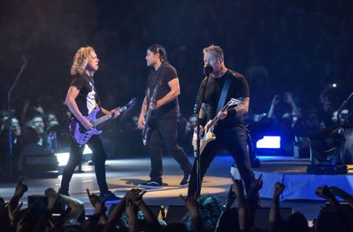Metallica geben in Stuttgart deutschen Schlager zum Besten