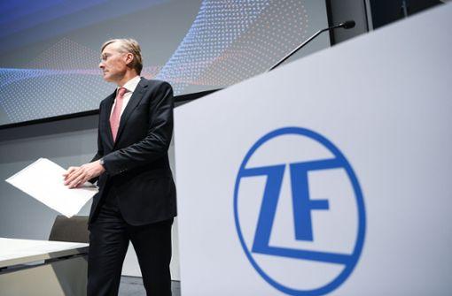 Wolf-Henning  Scheider ist mittlerweile 100 Tage ZF-Chef. Foto: dpa