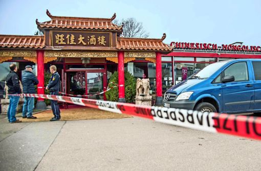 In diesem Restaurant in Backnang kam es zu einem Mord. Foto: SDMG