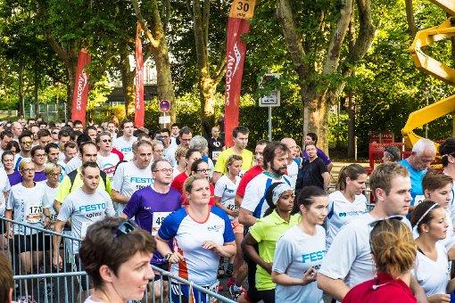 """5500 Läufer mit sauviel Spaß"""" dabei"""
