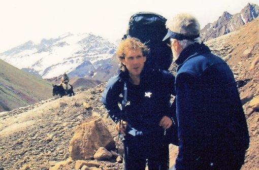 Ein letztes Amateurfoto von  Andi Colli am 10. Dezember 2002 Foto: privat