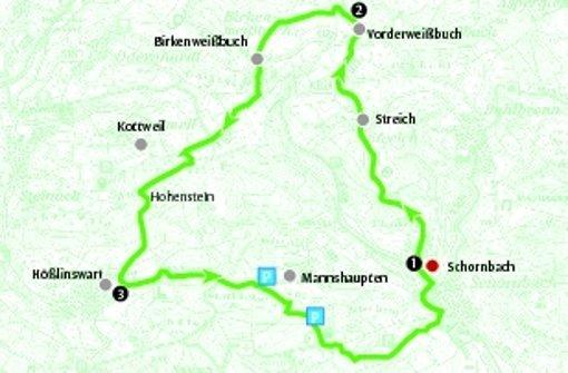 Die Route ist 12,5 Kilometer lang. Foto: StN