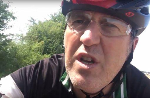 Onkel Tom wettert gegen Rad-Rüpel
