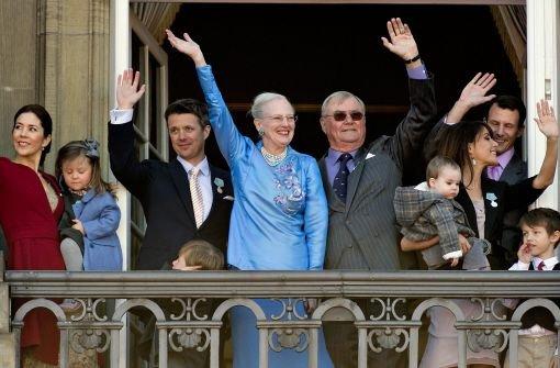 Aschewolke verdirbt Margrethes Feier