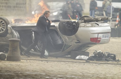 CIA-Agent Ethan Renner (Kevin Costner) im Einsatz in dem Film 3 Days To Kill. Foto: Universum Film
