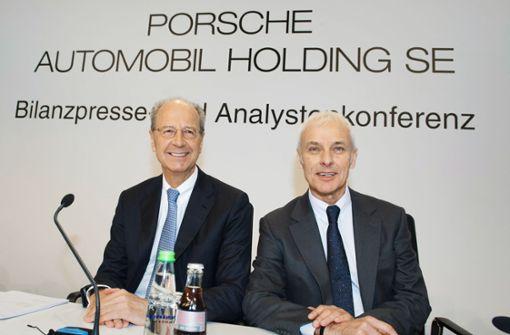 Porsche Holding profitiert von VW-Rekord