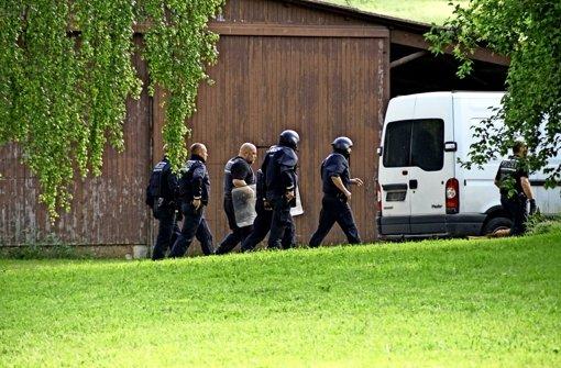Polizei findet Fesselwerkzeuge des Täters
