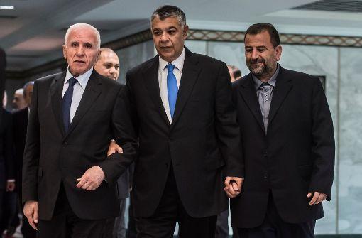 Palästinenser-Regierung übernimmt Kontrolle im Gazastreifen