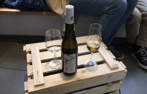 Pop-up-Weinbar im Waiblinger Rosenladen