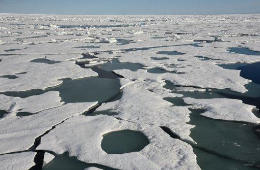Am Nordpol gibt es zurzeit extrem hohe Temperaturen. Foto: dpa