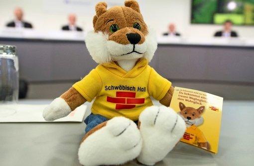 Der Fuchs ist die Werbefigur von Schwäbisch Hall, der Bausparkasse der Volks- und Raiffeisenbanken Foto: dpa