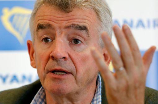 """Ryanair-Chef nennt Forderungen deutscher Gewerkschaften """"aberwitzig"""""""
