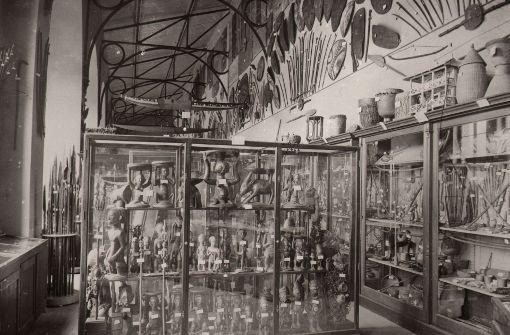 Blick in eine alte Ausstellung des Linden-Museums in den 20er Jahren Foto: Archiv Lindenmuseum