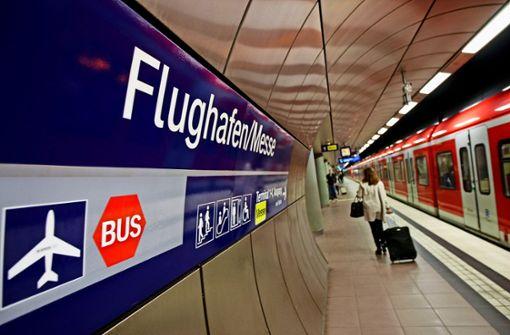 Der Landesflughafen sollte mit dem Bahnprojekt Stuttgart 21 nicht nur mit der S-Bahn, sondern auch mit dem ICE  erreichbar sein. Daraus wird nichts. Foto: Lichtgut/Leif Piechowski
