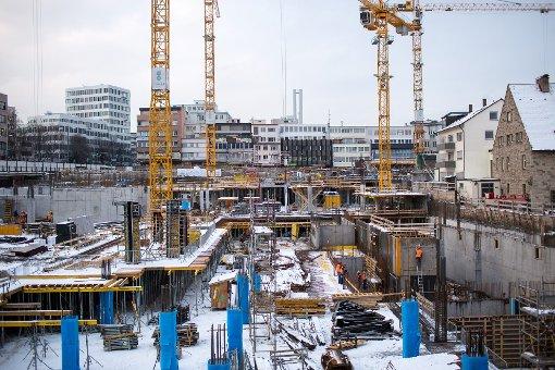 Stuttgart verändert sich: Bilder von der Gerber-Baustelle im Januar. Klicken Sie sich durch. Foto: www.7aktuell.de   Florian Gerlach