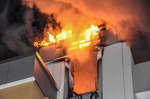Die Wohnung in Dagersheim ist nach dem Brand nicht mehr bewohnbar. Foto: SDMG