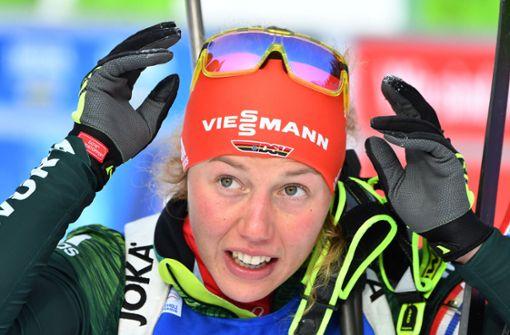 Laura Dahlmeier hat das Siegen vorgemacht. Die Heimerdinger wollen ihr es nachmachen. Foto: AFP