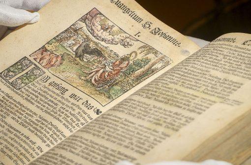 Bibelausstellung in Leutenbach