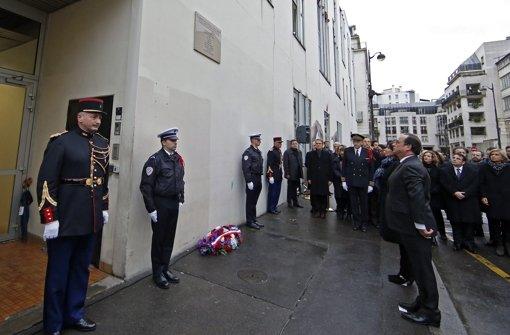 Frankreich gedenkt den Terror-Opfern